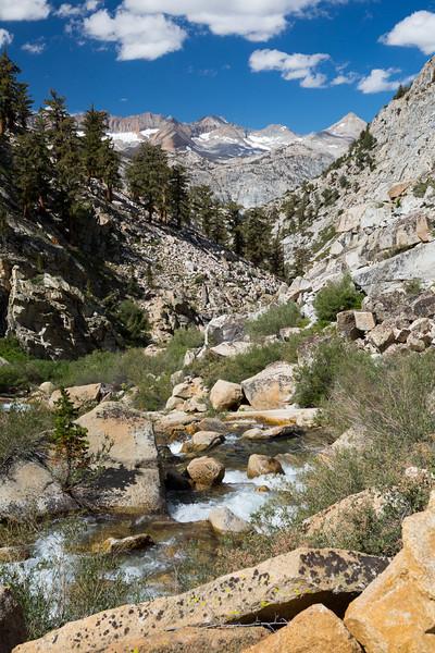 Wallace Creek and the Kaweah ridge