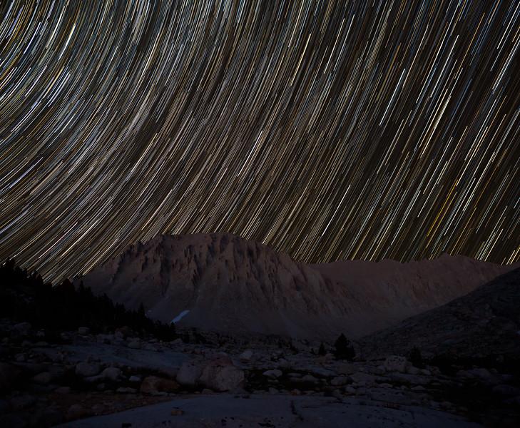 Whitney star trails
