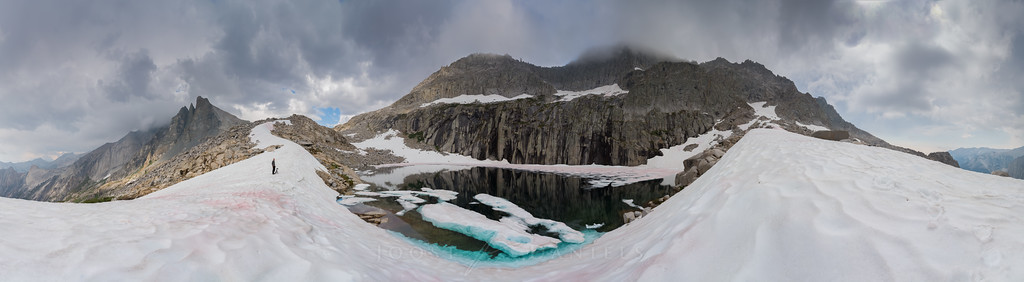 Precipice Lake panorama