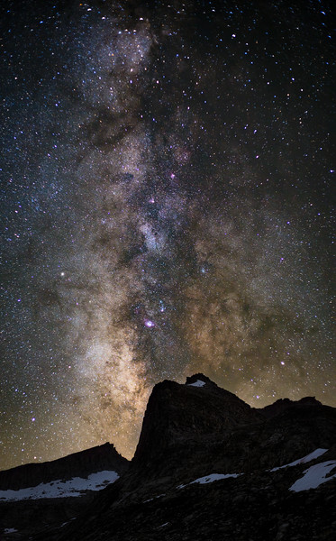 The Milky Way over Eagle Scout Peak