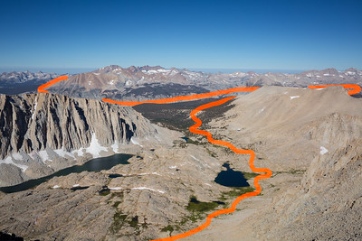 Our approach to Whitney from the west