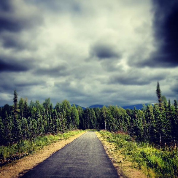 Biking the Chester Creek Trail in Anchorage, Alaska