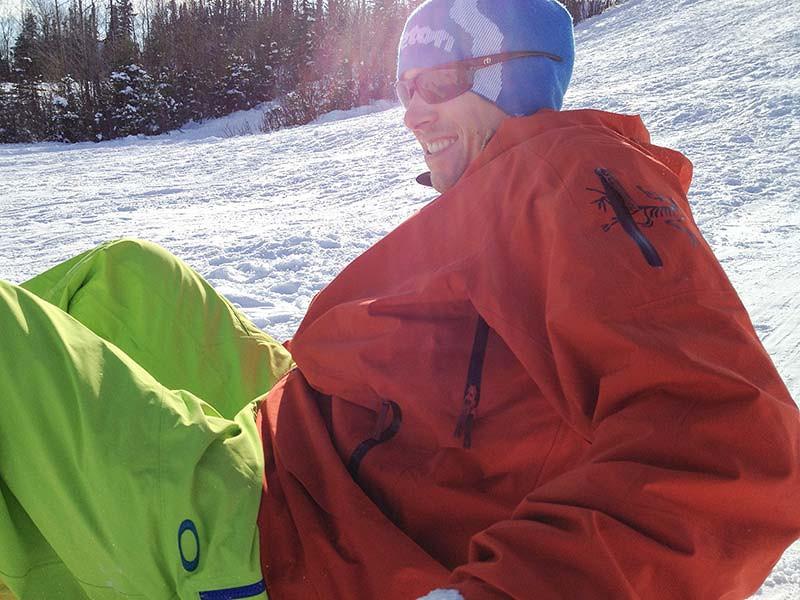 Sledding at Service in Anchorage in April (Photo: Kim Olson)