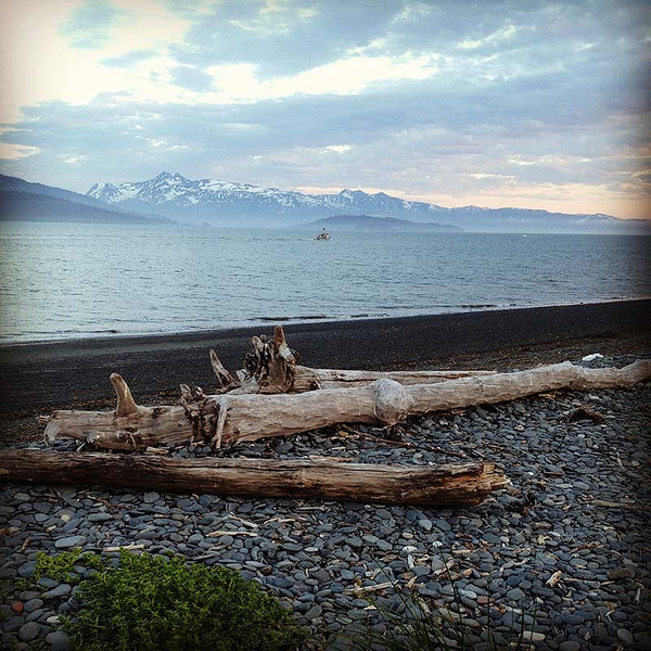 11pm at night in Homer, Alaska (Photo: Kim Olson)