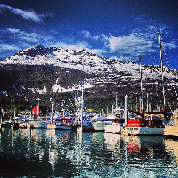 Valdez boat harbor, Alaska (Photo: Kim Olson)