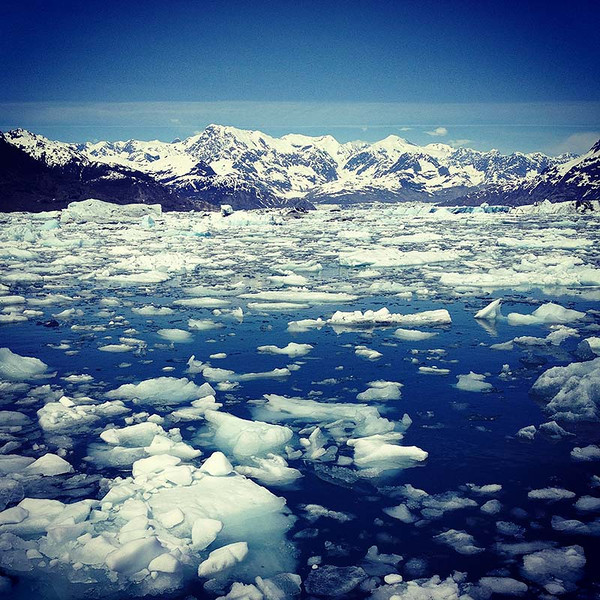 Columbia Glacier near Valdez, Alaska (Photo: Kim Olson)