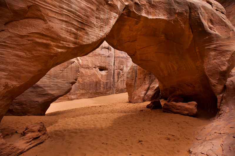 Sandstone Arch <br /> Arches National Park