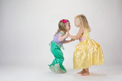 Ariel meets Belle