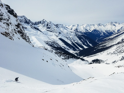 Skiing the Seven Steps to Paradise