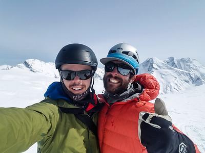 Summit Selfie from Youngs Peak
