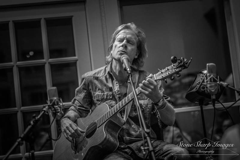 Rupert Wates at the House Concert