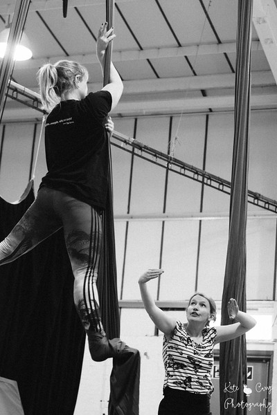 Aerial Skills Beginners Class, Full Cirqle, Edinburgh