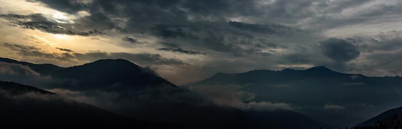 Sunrise over the Himalaya