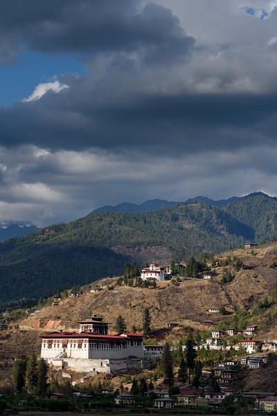 Dzong, Watchtower, Valley