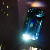 Aquamarine gem at the Houston Museum of Natural Scienceq