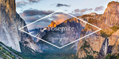 yosemite landscape photo