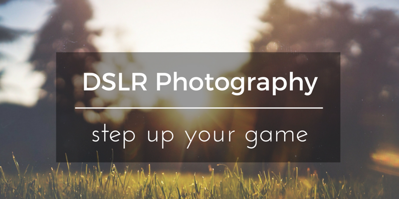 4 DSLR photography for beginners courses