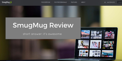 Smugmug review websites for photographers