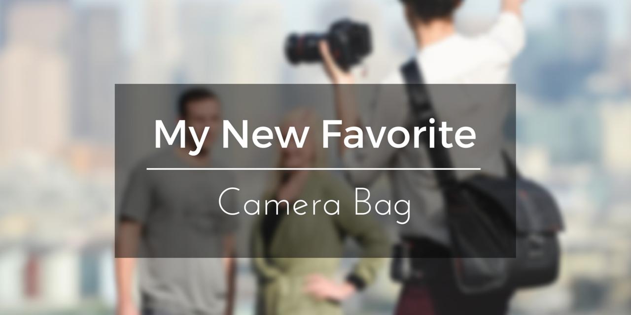 new favorite camera messenger travel bag