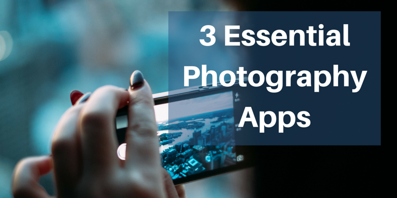 3 mobile photography apps