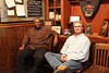 Dell and Tommy waiting for the rest of us at Jim n Nick's for dinner<br /> ©Daryl Duong 2011