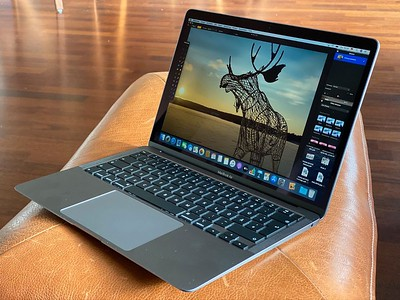 The 2020 MacBook Air. Maybe my next laptop. (Image: the guardian.com)