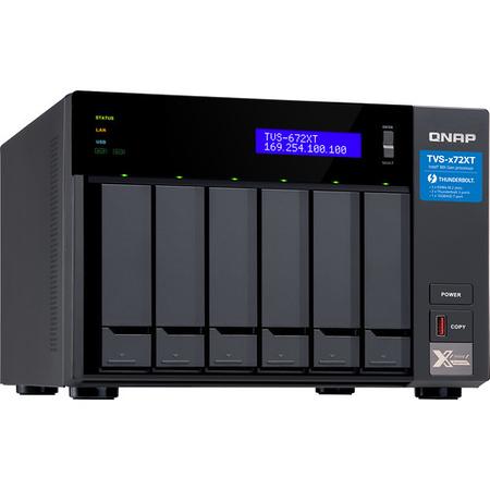 The QNAP TVS-672XT. (Image: QNAP)