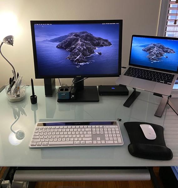 My current computer setup. (Image: Ricardo Gomez Photography)