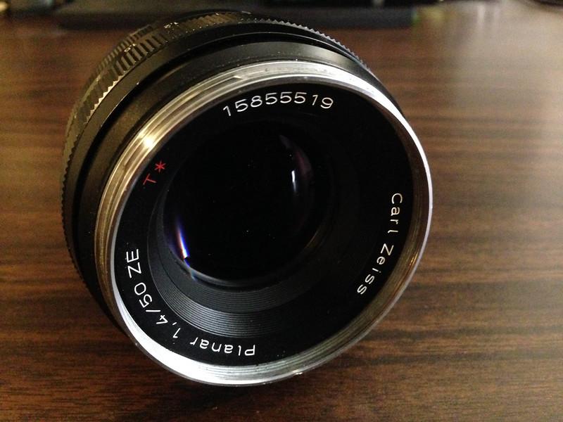 My amazing Zeiss 50mm f/1.4 Planar lens. Image: Ricardo Gomez