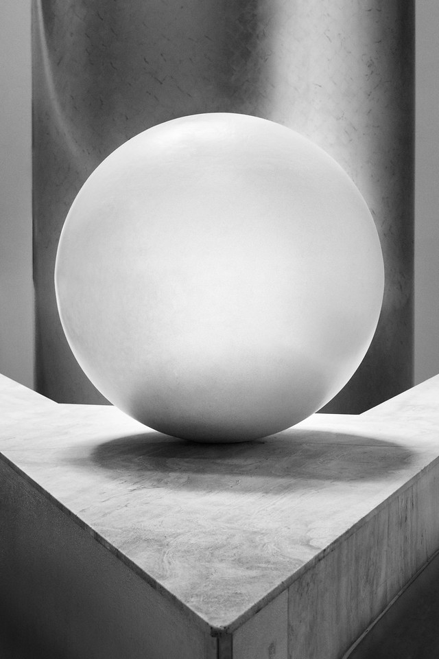 Study of a Sphere - Plate 1