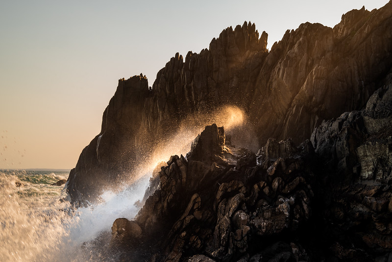 Wave light, Otter Trail. 2021