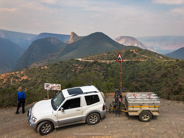 Scenery at the viewpoint at the top of Grasnek Pass. Baviaanskloof. Eastern Cape. South Africa