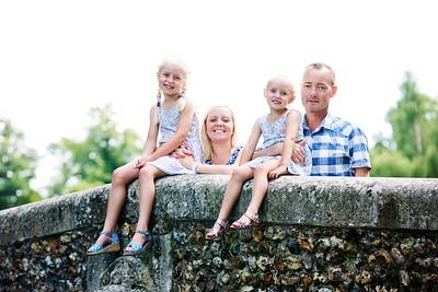 The Varney Family. 6th August 2015. Beddington Park.