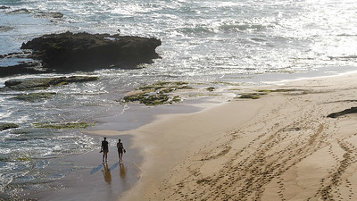 Flat Rock is a popular fishing spot on the Garden Route coastline at Wilderness, South Africa. The beaches on either side of it are delightful and much loved by walkers and holidaymakers.