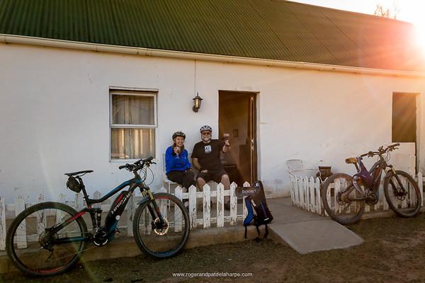 Sundowners at Damesedrif Farm Stay after a ride. Baviaanskloof. Eastern Cape. South Africa
