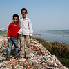 Naresh and his brother Jataayu overlooking the Yamuna River. Fuji X-Pro 1, 18mm, F/16, 1/125th, ISO 200.