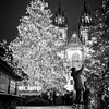 The Christmas tree in the Old Town Square, Prague. 1/3 sec at f/2.8, ISO 200 18mm