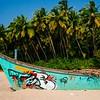 Bogmalo Beach, Goa, India. Fuji X-Pro 1, 18mm lens, VSCO Film 04 - Fuji Velvia 50.