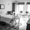 """We went on a hospital tour. Like many things in India, there are 4 classes of recovery rooms: Standard, Deluxe, Super Deluxe and Suite. Pictured is half of """"The Suite."""""""