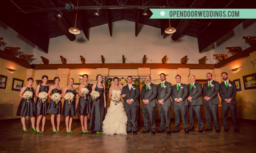 opendoorweddings.com by Open Door Photography Clay Hadick Patrick Ibarra Paso Robles wedding oak trees winery rustic nature green forest leaves castoro cellars tasting room