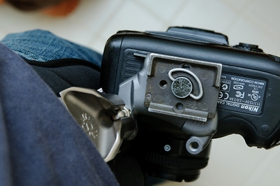 Photographers viewpoint of the Spider Holster