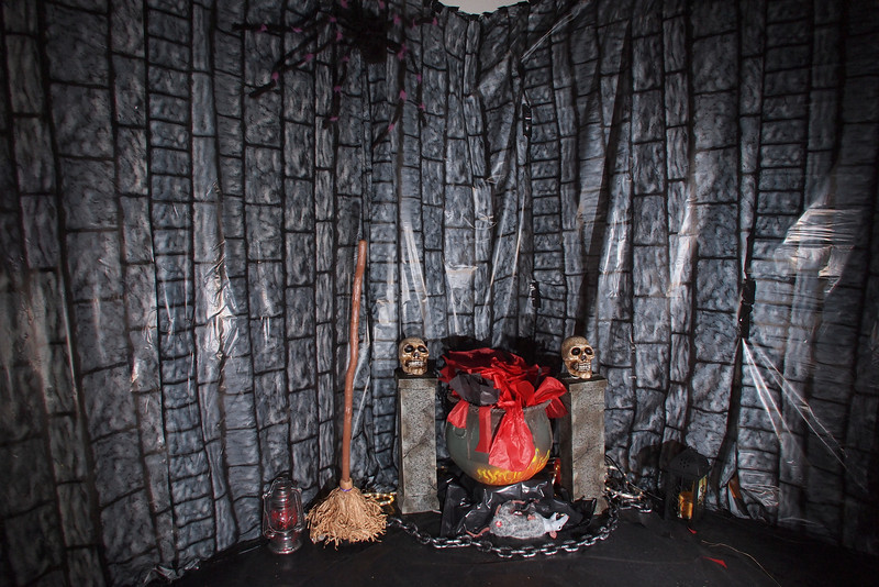 Haunted House setup completed