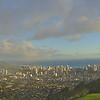Puu ualakaa State Park Pano - Honolulu, Hawaii