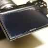 Sony NEX-5 LCD Anti-Glare Cover Damage