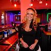 Kasie at the Bourbon Girl - Austin, Texas (fill flash, Fuji XF1)