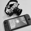 Olympus PEN-F and Nintendo Switch
