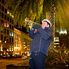 Trumpeter, Union Square - San Francisco (with fill flash)