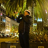 Trumpeter, Union Square - San Francisco (no fill flash)