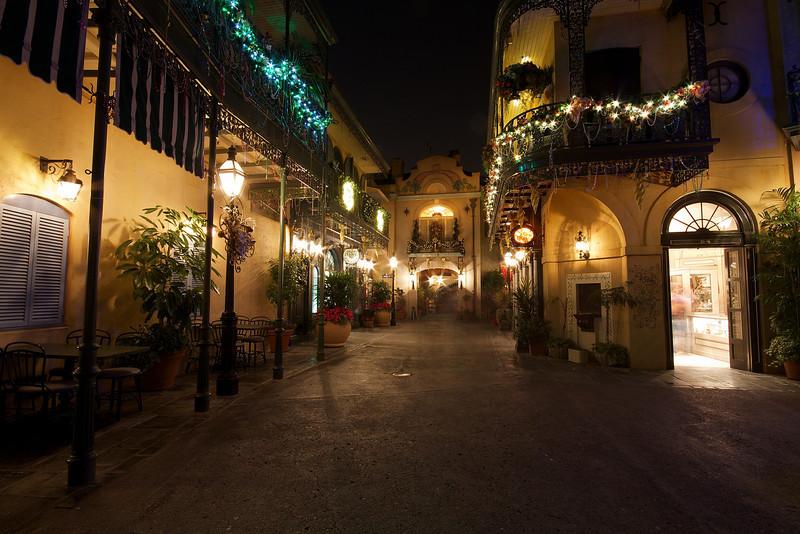New Orleans Square, Disneyland - Anaheim, California  (exposure 3, +2EV)