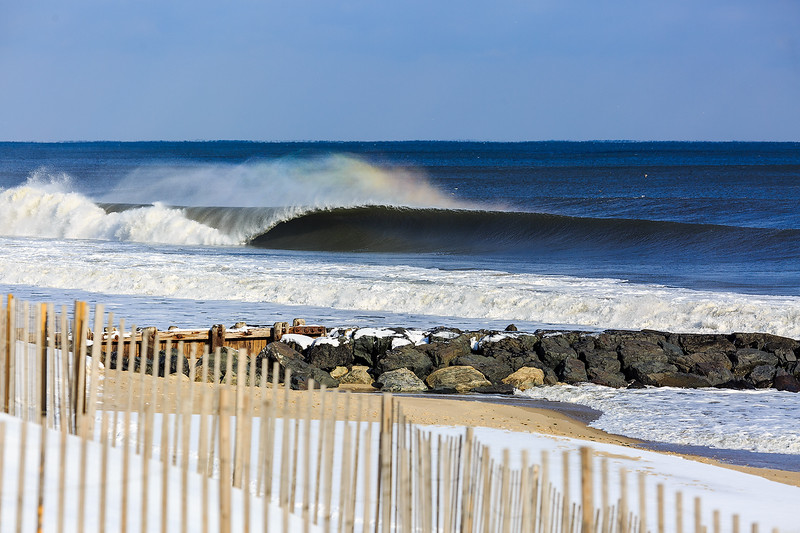 Snow + Swell = Empty Perfection